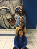 Five students who earned Associate Degree from TC3