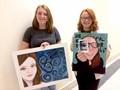 High School Art Students