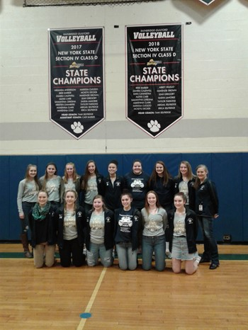 State Volleyball Banners