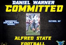D Warner Football