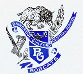 BG Logo with crest and bobcat
