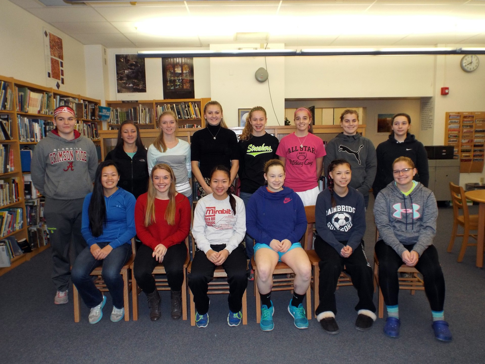 Scholar Athletes - MAC GIRLS SOCCER