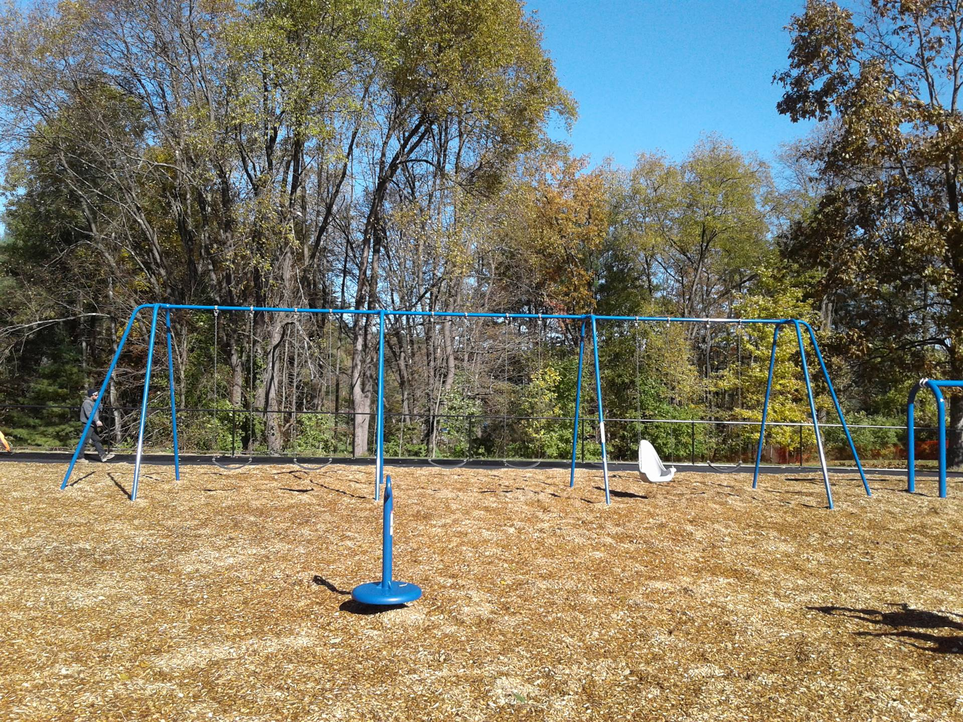 New Greenlawn Playground - Swings
