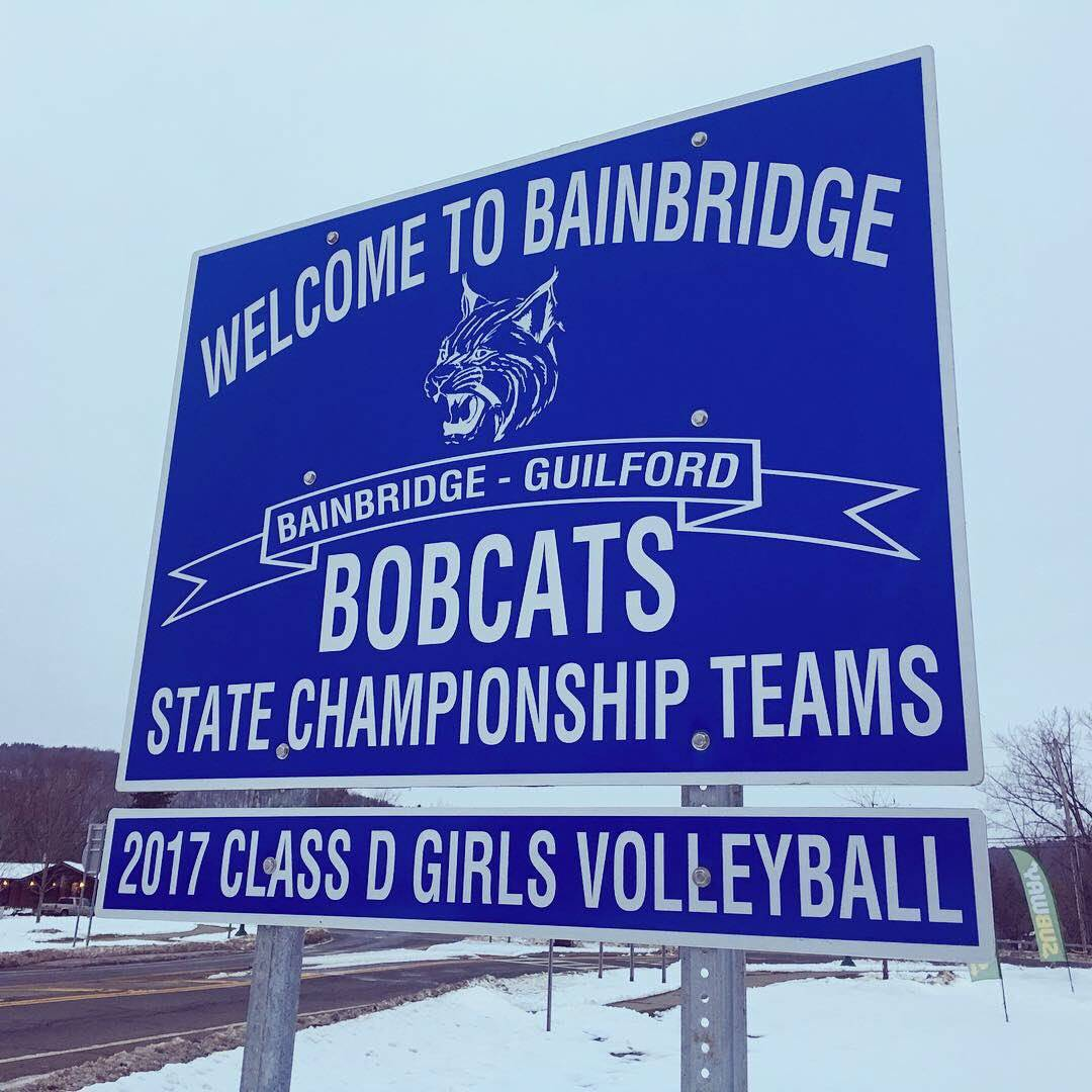 State Champ Sign