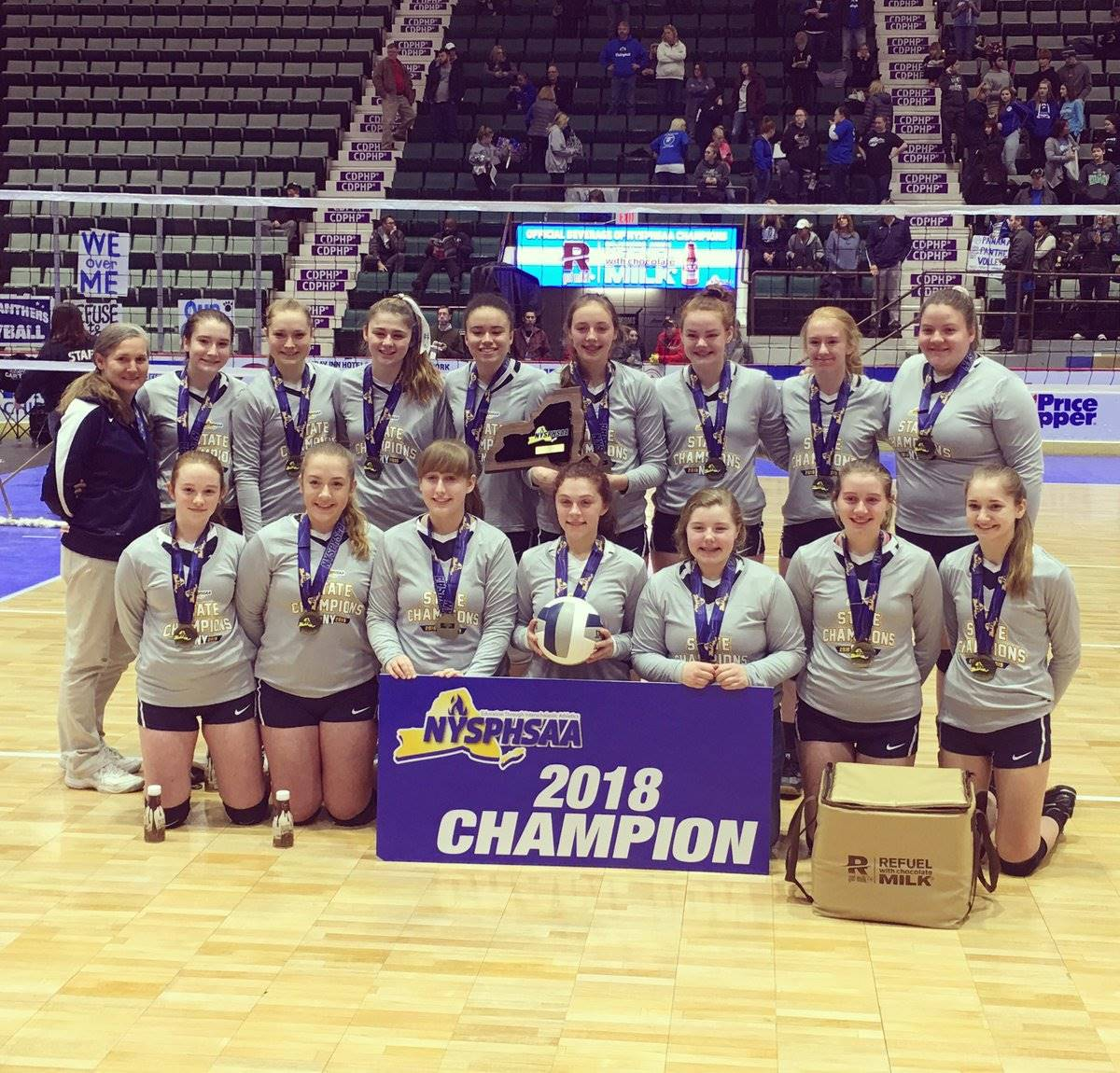 State Champ Girls Volleyball Team - 2018