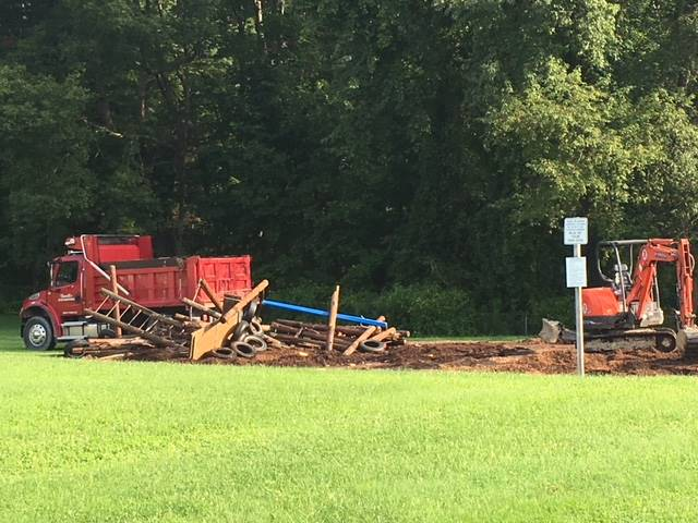 Greenlawn - Playground Destruction/Construction