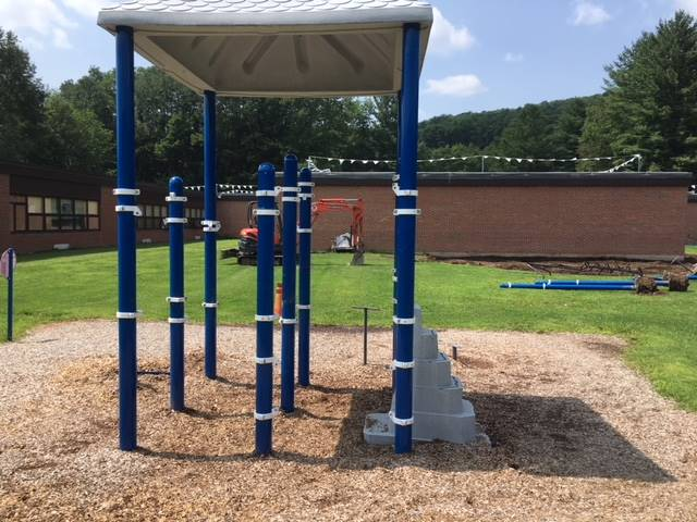 Greenlawn - Playground construction
