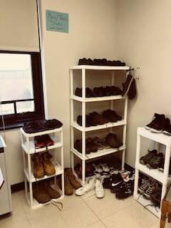Bobcat Boutique - racks of shoes
