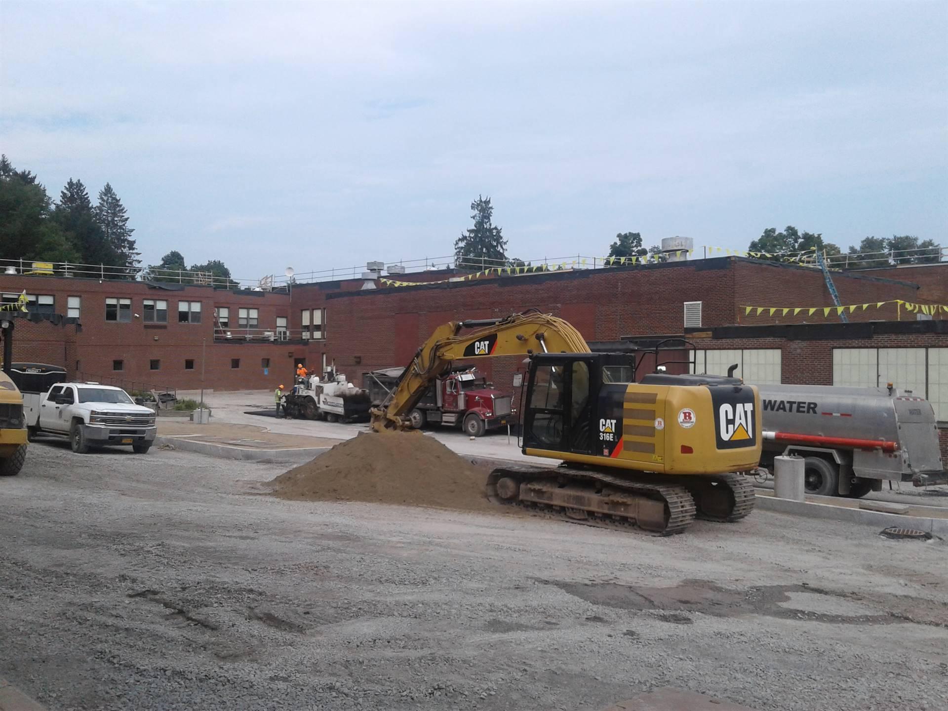 Week 9 - Capital Project - HS Parking Lot