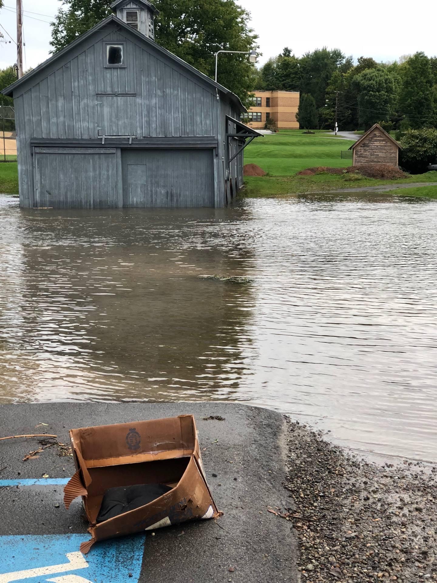 Flooding - School Street Guilford