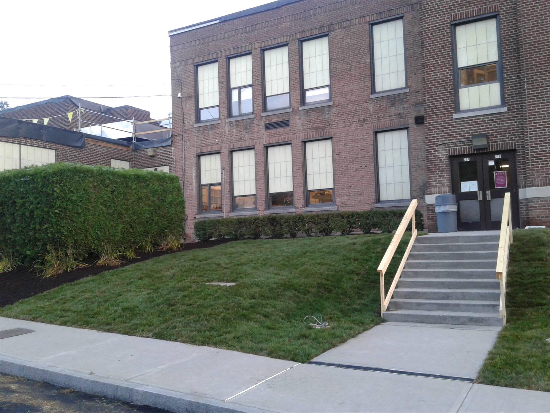 Capital Project - Week 10 Walnut Street Entrance
