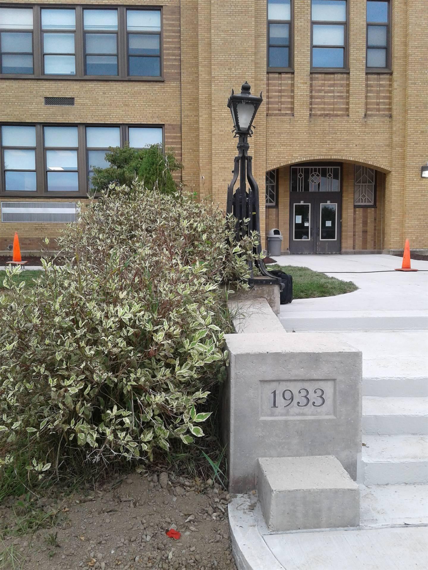Guilford Elementary School Steps