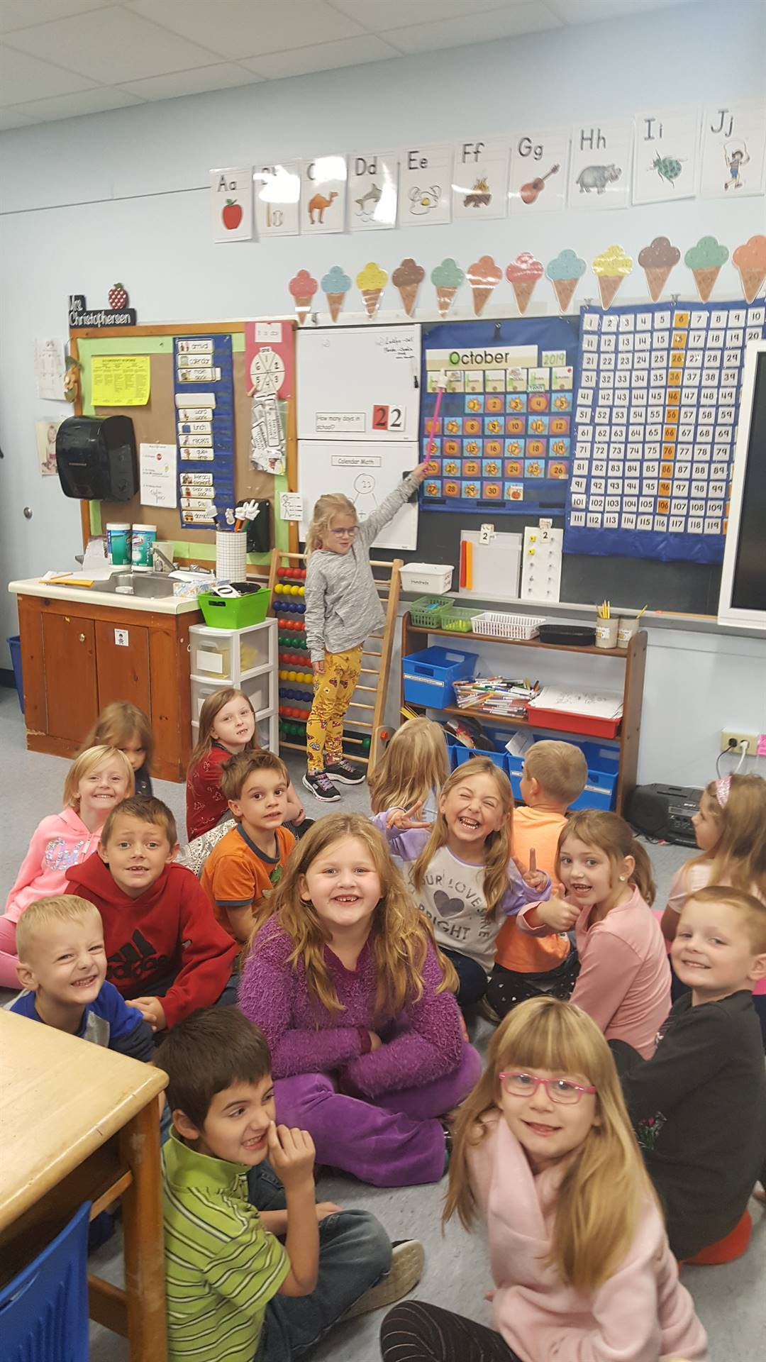 A class of first graders!