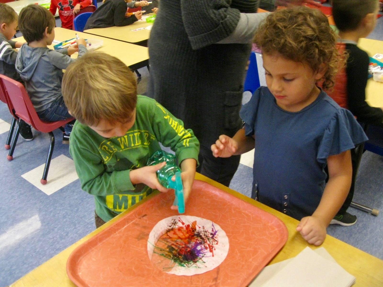 2 students using teamwork!