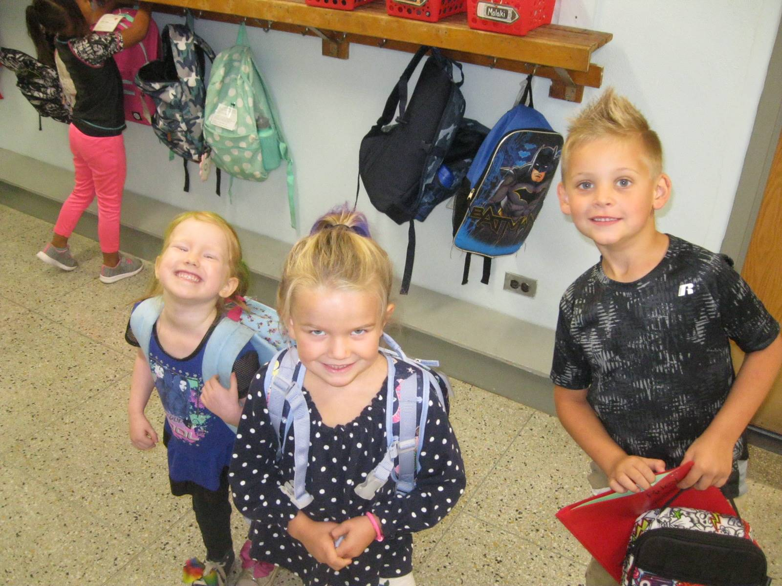 3 students show their crazy hair!