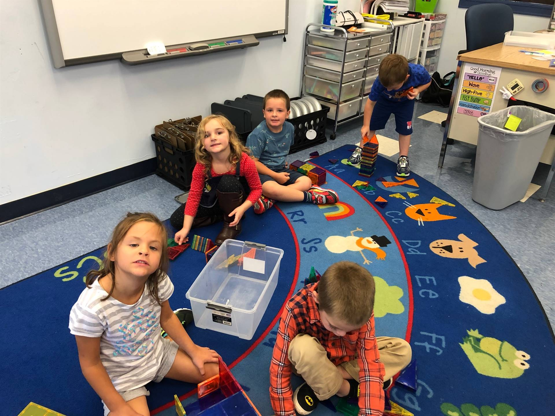 4 students play.