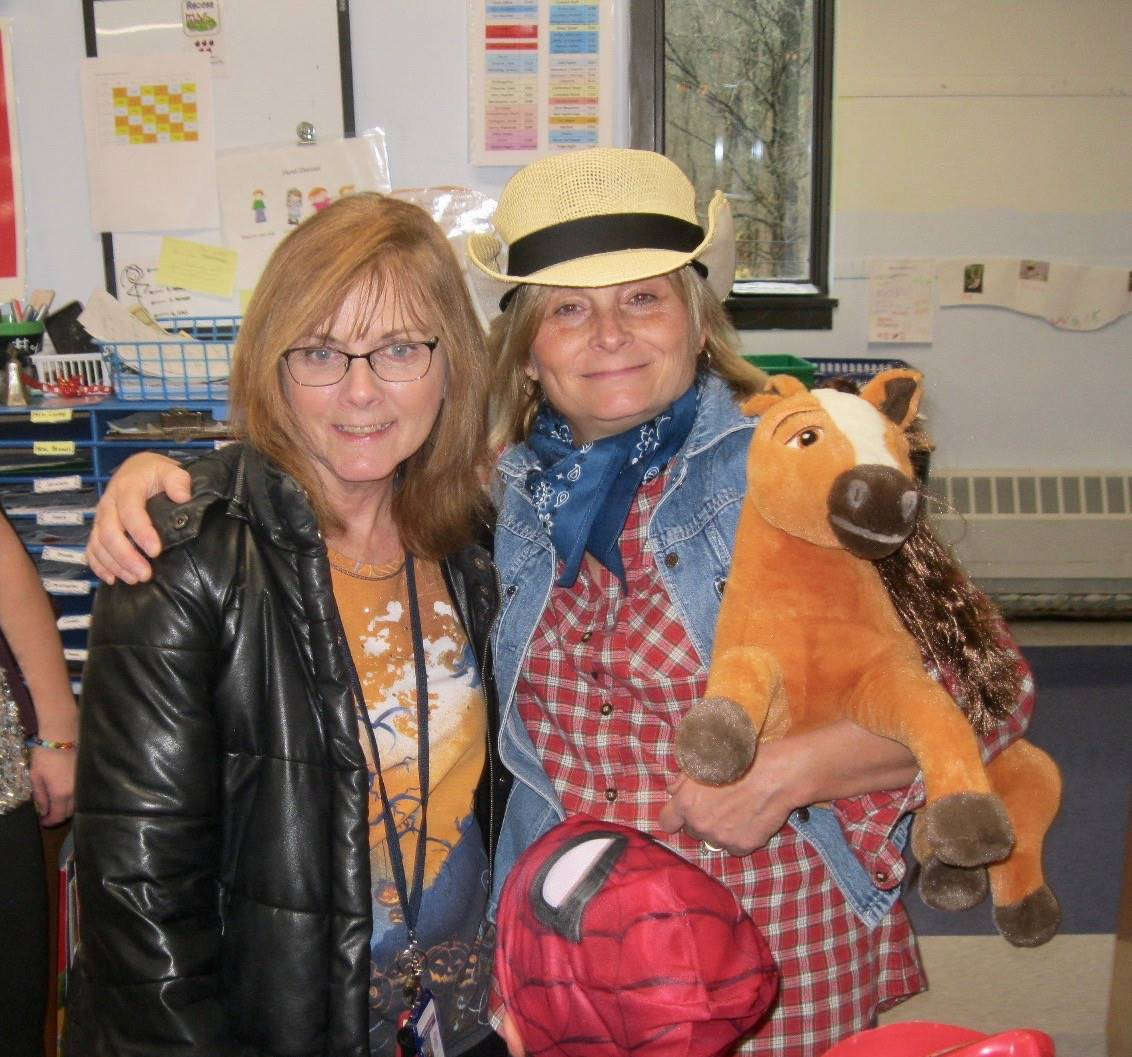 a teacher cowgirl and staff member
