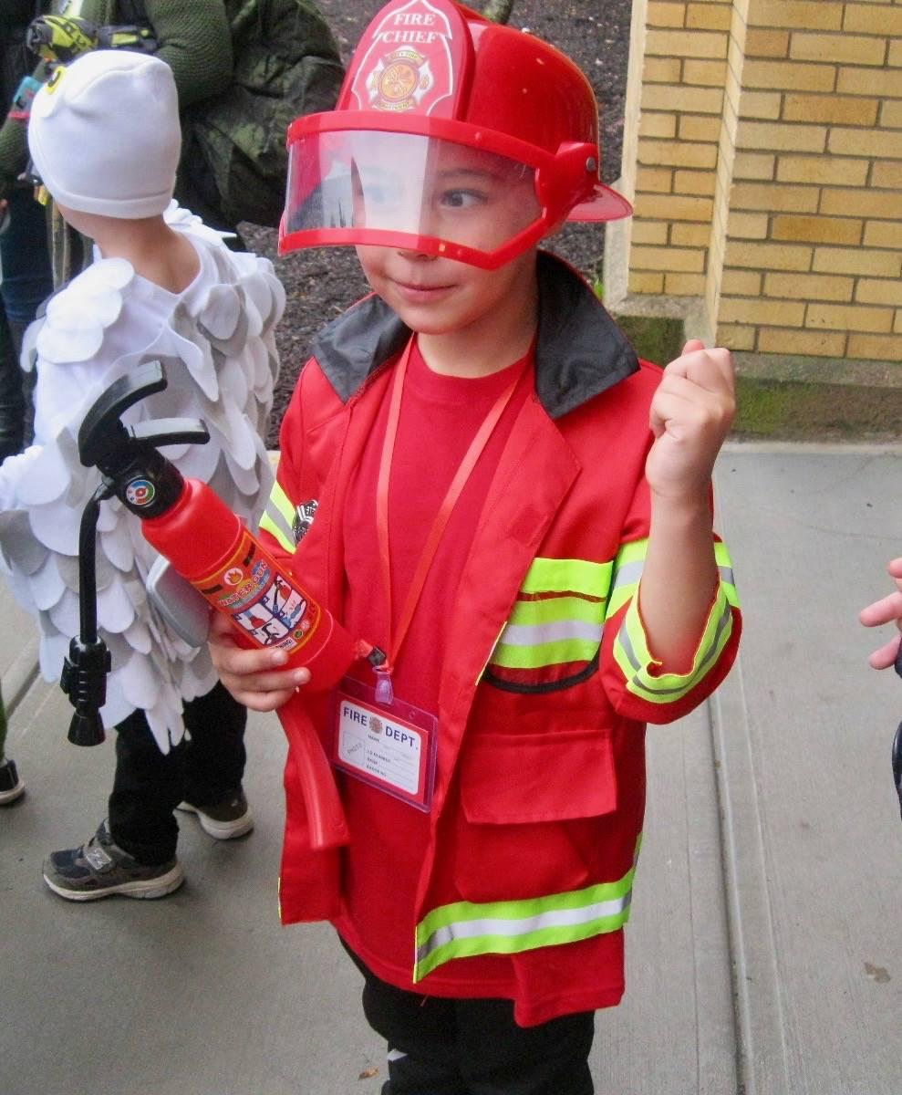 a firefighter!