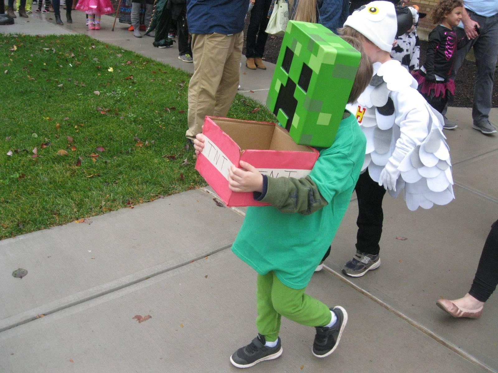 Minecraft kid!