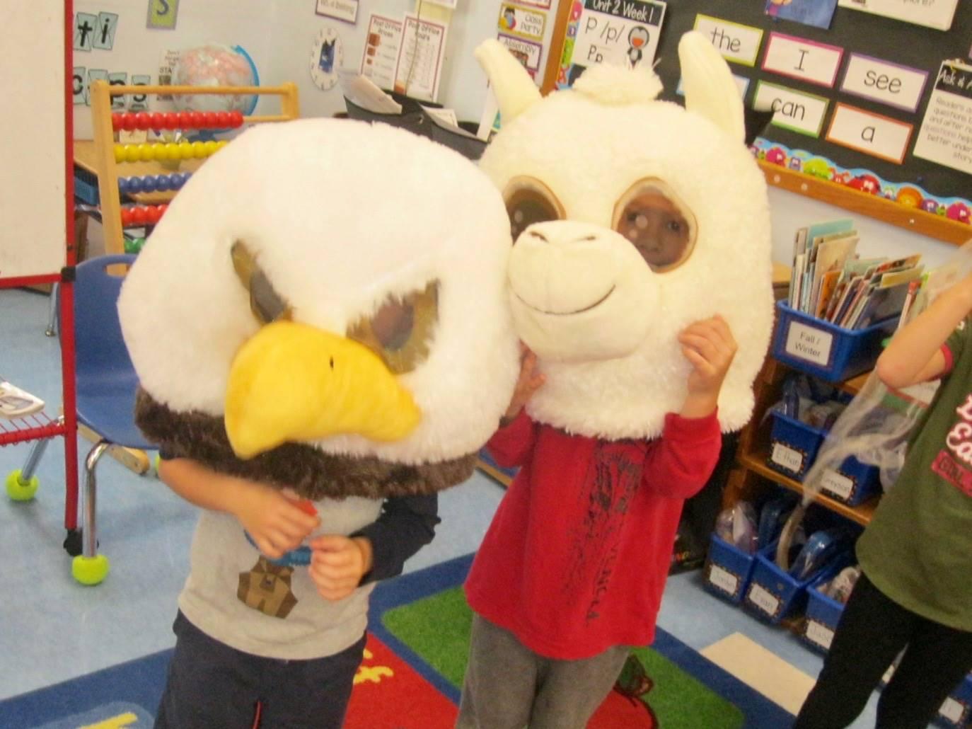 Llama and Eagle.