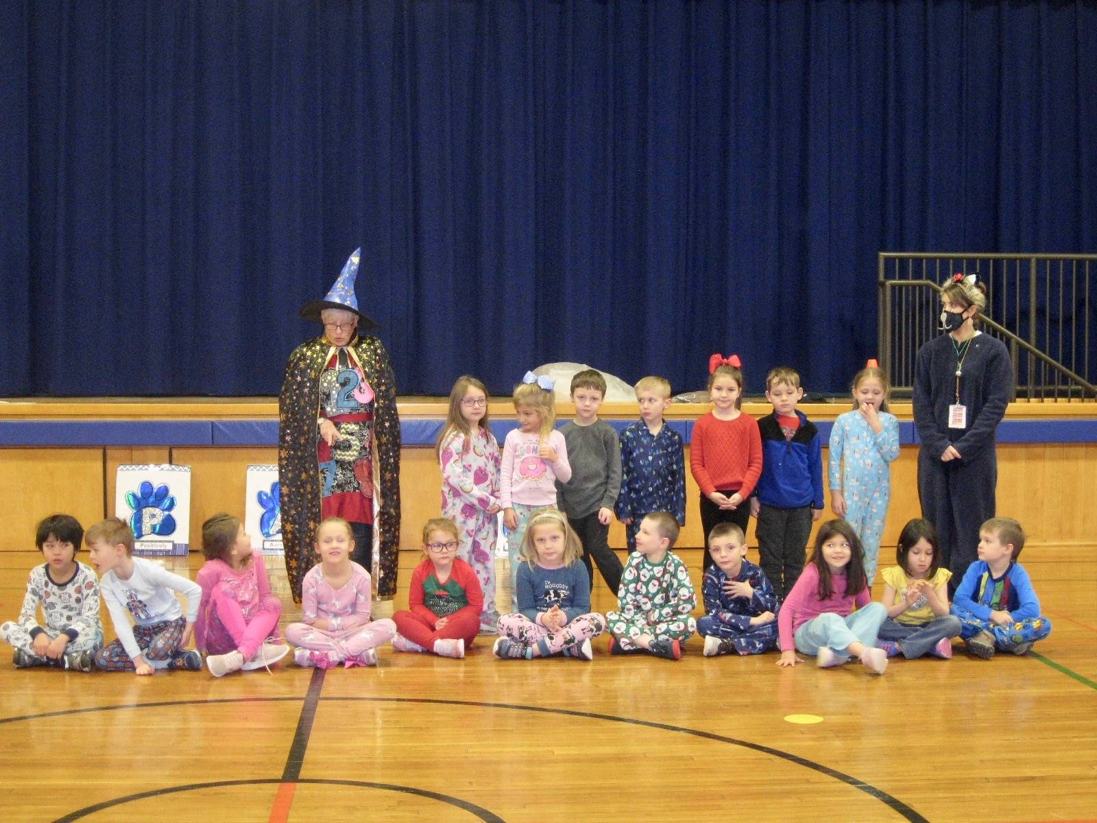 Number wizard with number club winners!