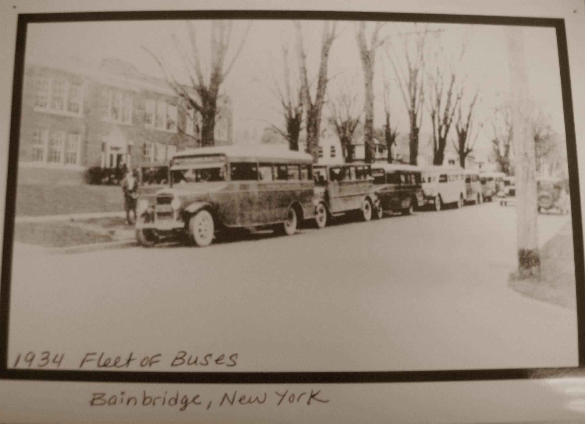 Bus Fleet 1934
