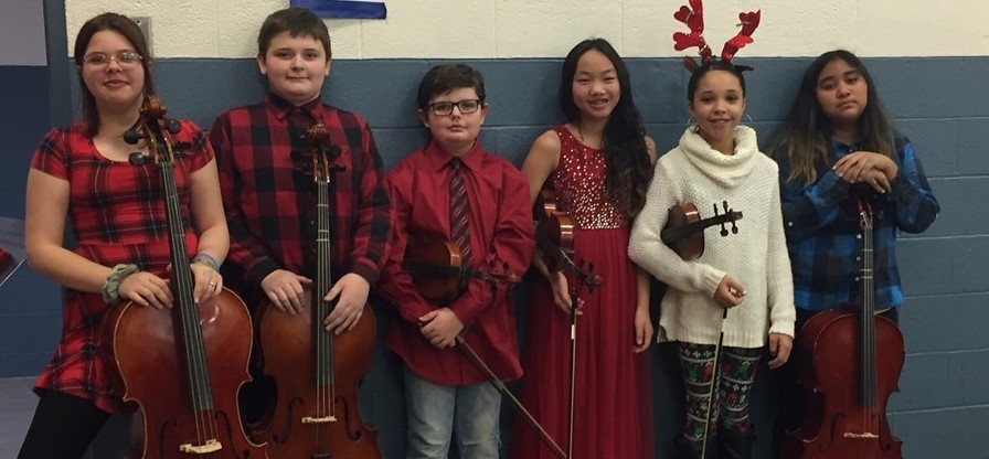 5th and 6th Grade Violinists and Cellists