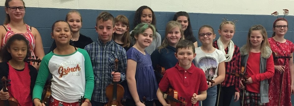 5th and 6th Grade Violinists