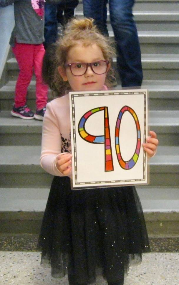 The 90th student to enter the gym!