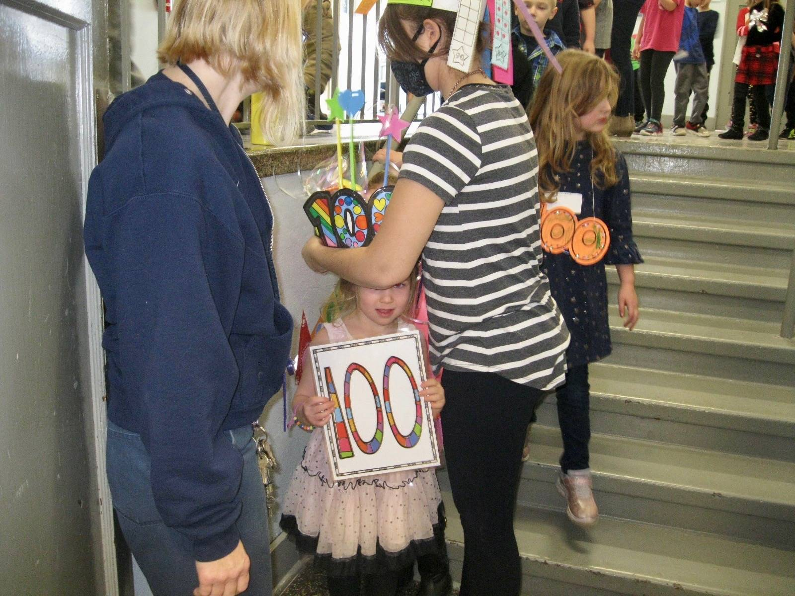The 100th student is crowned!
